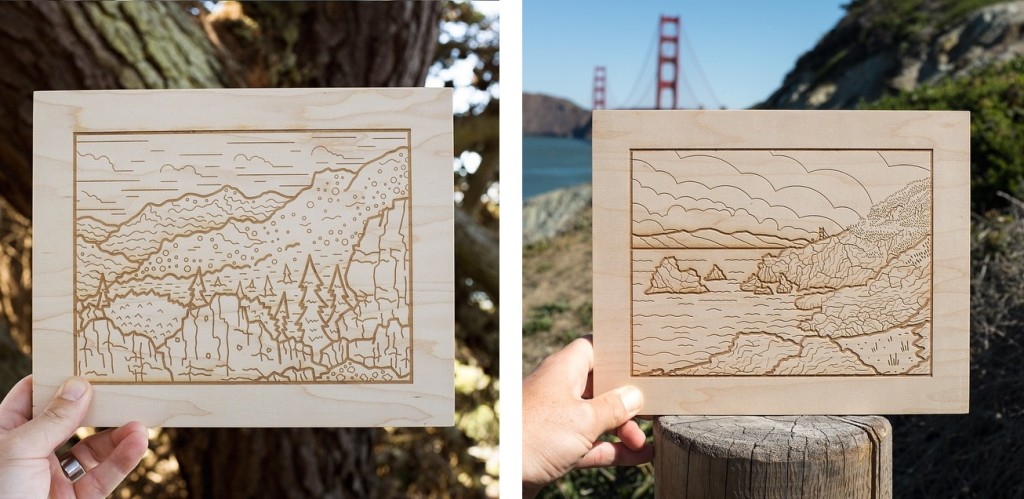 Ryan Putnam Woodblocks
